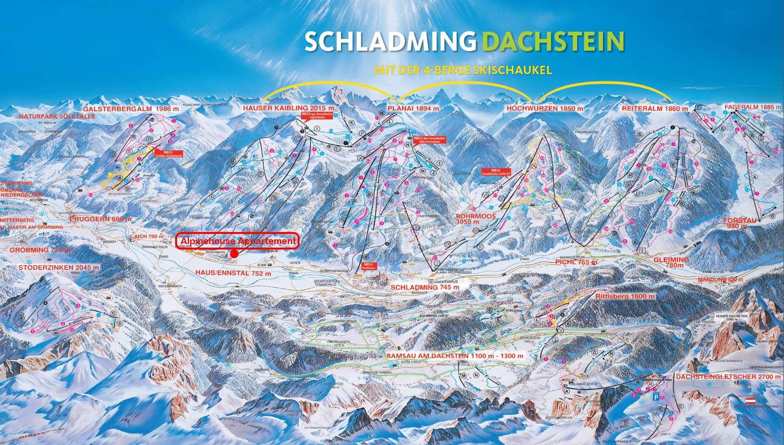 4-Berge SkiSchaukel
